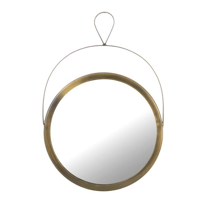 Specchio rotondo da appendere legno specchi ambroso - Specchio rotondo ...